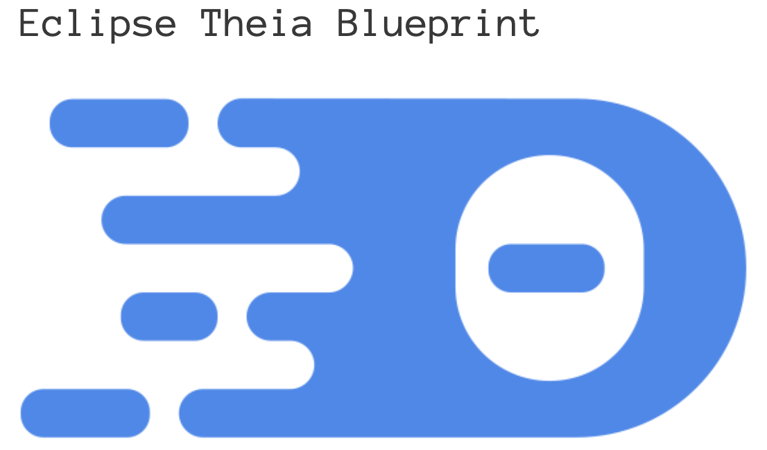 Eclipse Theia BluePrint Logo